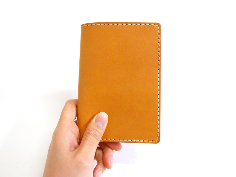 83 Pass ID cover holder  trips natural leather    LIGTH